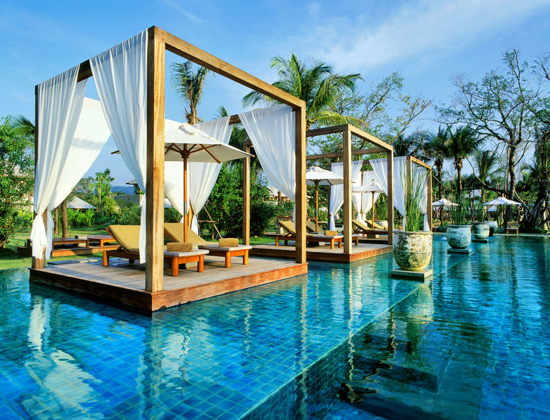 The Sarojin Resort Pool In Khao Lak Phang Nga Thailand